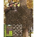 MILTEC Tarnnetz BASIC LIGHT, 2.4 X 6.0 m, woodland