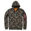 Alpha Industries X-Fit Zip Hoody, wdl camo 65